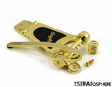NEW Bigsby B30 GOLD TREMOLO Vibrato Bridge Archtop Electric Guitar B30 GOLD