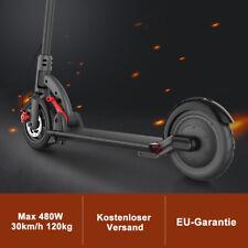 Neu Top 30Km/h 480W Faltbar Elektroroller Tretroller E-Scooter Cityroller + LED
