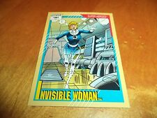 Invisible Woman # 41 - 1991 Marvel Universe Series 2 Impel Base Trading Card