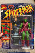 New ListingMarvel Legends Green Goblin loose figure Retro Spiderman In Hand