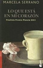 Lo Que Esta en Mi Corazon (Novela (Booket Numbered))