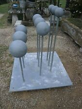 More details for large retro steel ball scientific  model