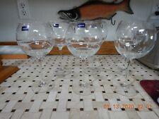 Mikasa CHEERS Balloon Crystal Wine Glasses 20 oz. ea. Set of 6