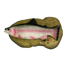 New listing Travis the Singing Trout Gemmy Fish Do Wah Diddy & Rock the Boat