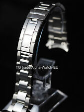 17mm Oyster stainless steel bracelet band fit Submariner polished midle