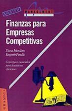 Finanzas Para Empresas Competitivas (Paperback or Softback)