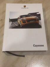 Porsche Cayenne Hardback Brochure 2008  Excellent