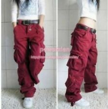 Womens Military Multiple pockets Cargo Leisure Trousers Outdoor pants New Hot