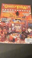Country Folk Art Winter 1991 Craft Magazine #1137