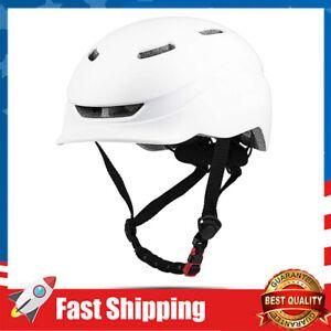 Bike Helmets w/ USB Light Bicycle Cycling Helmet for Urban City Commuter
