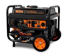 WEN DF475T 4750-Watt 120V/240V Dual Fuel Portable Generator with Wheel Kit