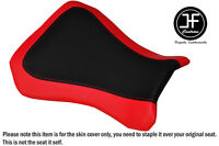 BLACK AND RED VINYL CUSTOM FITS RIEJU RS3 125 FLAT FRONT SEAT COVER ONLY