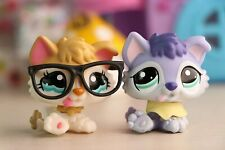 Lps Rare Figures lps Baby Husky 1013 Yellow with lps Accessories Glasses Clothes