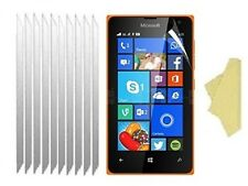 [10 PACK] CLEAR Screen Protector Cover Guards for Microsoft Lumia 435