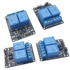 4pcs 5V Dual Channel 2 Relay Module Arduino Relays Switch 110V 115V 120V 220V US
