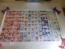 Uncut Sheet 1983 Reprint Of 1933 Goudey Baseball Cards
