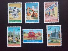 1978 - Romania - Romanian Industry ,Mi. 3530 - 3535,  MNH