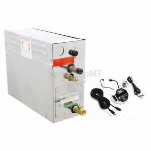 4KW Steam Generator Sauna Bath Steamer Digital Control For Home Spa Shower