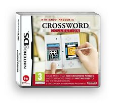 NINTENDO PRESENTS CROSSWORD COLLECTION - NINTENDO DS BRAND NEW