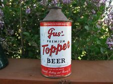 GUS TOPPPER Kalispell, Montana Cone Top Beer Can