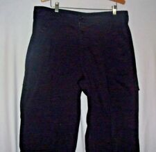 McDonalds Work Pants 38X32 Cotton Polyester Apparel Collection Black