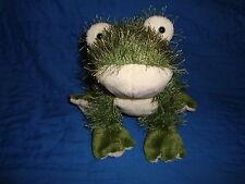 Ganz Webkinz Frog Plush Beanbag Only NO Code