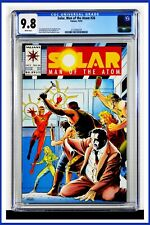 Solar Man Of The Atom #26  CGC Graded 9.8 Valiant October 1993 Comic Book