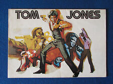 Tom Jones - 16 Page A4 Publication - 1974