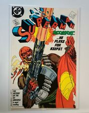SUPERMAN #4 FIRST BLOODSPORT (1987) NM 9.4