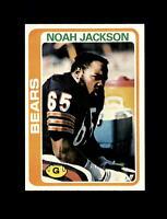 1978 Topps Football #437 Noah Jackson (Bears) NM-MT