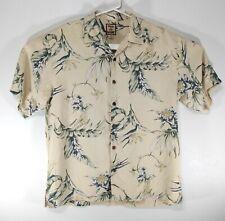Tommy Bahama Silk Hawaiian Shirt Mens Medium