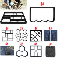 Paving DIY Paving Concrete Stepping Driveway Stone Path Mold Patio Maker Mould
