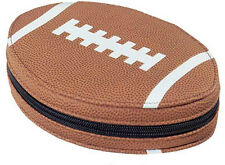 Rugby Ball shaped 24 CD DVD CARRY CASE HOLDER