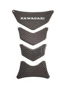 New premium carbon effect motorcycle tank pad/protector for Kawasaki motorcycles
