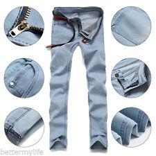 hommes jeans fin extensible compatible avec slim fit pantalon décontracté