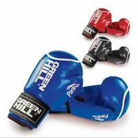 Green Hill Boxing Gloves PANTHER Workout kickboxing Muay Thai MMA