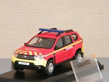 DACIA DUSTER 2018 Pompiers Secours Médical NOREV 1/43 Ref 509013