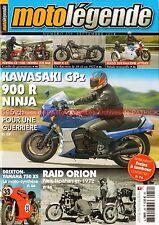 MOTO LEGENDE 259 KAWASAKI GPZ 900 R Ninja HONDA CB 750 1100 YAMAHA XS BMW R47