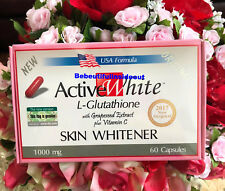 6 NEW Active White Glutathione Skin Whitening Pills w/ Vitamin C Skin Whitener