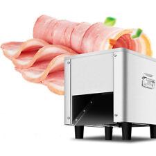 110V 1400r/min Commercial Meat Slicer Machine 7mm Cutting Blade