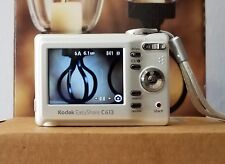 Kodak Silver EasyShare C613 6.2MP Digital Camera USB Cable SD Card Travel Bag