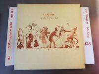 GENESIS A TRICK OF THE TAIL 1976 UK LP TEXTURED COVER A/3 B/3 CHARISMA CDS 4001