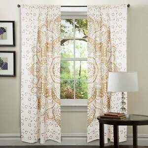 Small Window Curtain Tapestry Elephant Mandala Wall Hanging Door Window Curtain