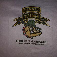 Us Army Ranger Death Dealers 3rd Platoon Fort Jackson T Shirt Large