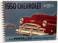 1950 Chevrolet Dealer Album Sales Reference Bel Air Styline Fleetline Chevy Rare