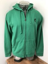 Mens Large FAMOUS STARS & STRAPS Full Zip Up Hoodie Jacket Small F Logo