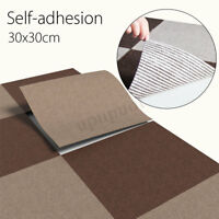 Self-adhesive Carpet Tiles Commercial Grade Heavy Duty Flooring Office Cover !