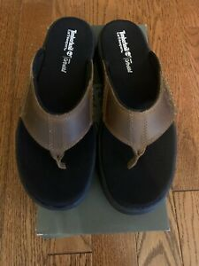 Timberland Earthkeepers TB07847A Crawley Brown Sandal Size 8