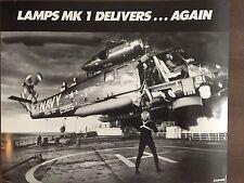 B&W Glossy LAMPS MK1 Aircraft -circa 1990s