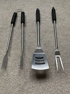 Revolution Airflow 3Pcs BBQ Tool Set Stainless Steel - NEW and UNUSED